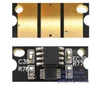 Чип желтого картриджа Konica Minolta bizhub c25/С35