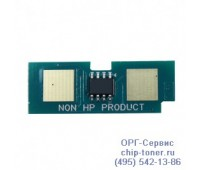 Чип тонер-картриджа CANON CLC 4040, CLC 5151, C-EXV17 Синий