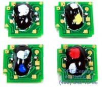 Чип голубого картриджа HP Color LaserJet CP1215 / CP1515 / CP1518 / CM1312