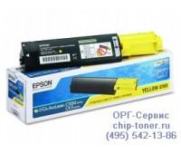 Картридж желтый Epson AcuLaser C1100 / CX11N оригинальный